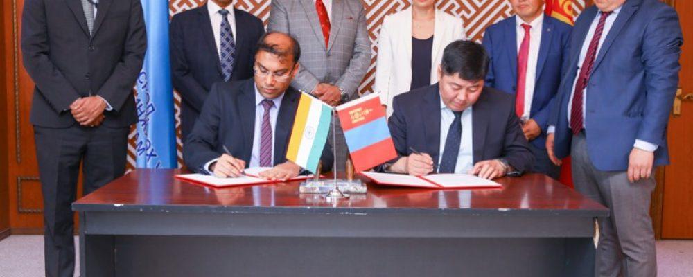Монгол Энэтхэгийн мэдээллийн технологийн боловсрол, аутсорсингийн төв байгуулна