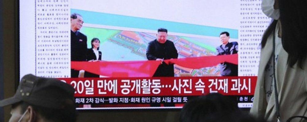Ким Жон Ун олны өмнө ил гарч, цуурхалд цэг тавив
